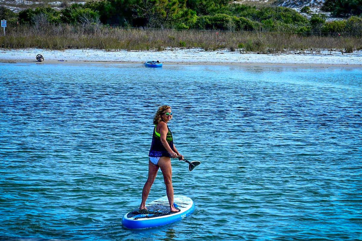 Shell Island Paddleboarding